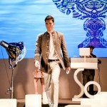 Fashion show designed outfit by Christain Lacroix