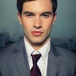 international male model office man