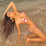 emmy sexy bikini model