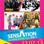 Korean Music Sensation Vol.1 poster
