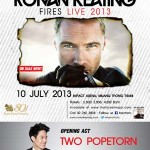 Ronan Keating Fires Live 2013 poster