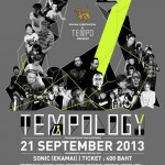 TEMPOLOGY Underground Music Festival 2013 Poster