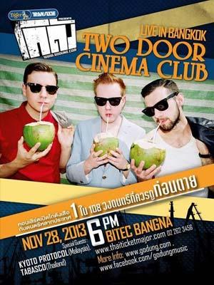 Two Door Cinema Club Live in Bangkok