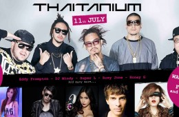 Thaitanium live in Concert & Thailands best DJ´s in Hua Hin